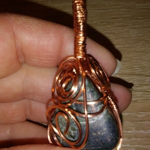 Jewelry - Wire Wrapped Pendant